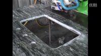 GPW-510A 注水式风动石材循边机磨邊機