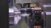 震环机床 Z-MaT——CK6163-F专机-转向杆加工案例