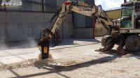 MB磨宝铣挖机MB-R500–Terex TW85轮胎式挖机–混凝土