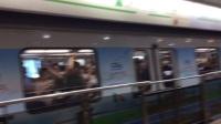 上海地铁2号线205号车南京西路出站   唐镇方向   02A01型