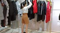 原单正品折扣女装单品棉衣18年货源