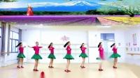 刘荣广场舞《渡红尘》原创附教学和背面演示