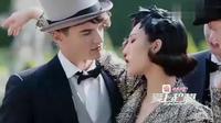 综艺节目:爱上超模之选手妩媚演绎纸醉金迷千金,旁边男模太帅了