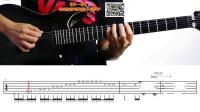 9.无泪的遗憾(间奏)电吉他独奏 演奏视频讲解教学前奏间奏尾奏