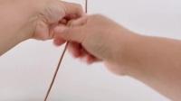 【编绳基础】缠绕结 小蜗牛编织社 新手入门教学视频