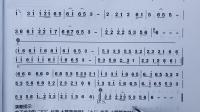 110《走天涯》双管巴乌教学 曲谱分析讲解视频示范 杨捌伍双管巴乌0基础教材