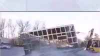 轻钢结构建筑滚动测试(抗冲击测试)