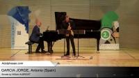 Sonata by William ALBRIGHT - GARCIA JORGE, Antonio (Spain)