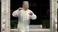 28势传统杨式太极拳教学,傅清泉演练一遍,傅声远大师慢动作,(下)。_标清_标清