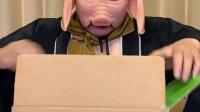 童年趣事:豬八戒的快遞到了,原來是個西瓜
