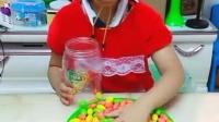 亲子游戏:我把糖果收起来,给弟弟妹妹吃