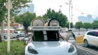电动车超长续航版,开回老家再也不怕电池不够了!