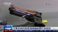 美国:印第安纳州欲取消持枪执照引发担忧