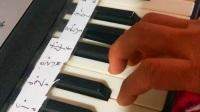 一个无怨无悔的人自学电子琴