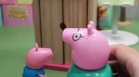 猪爸爸让乔治动脑筋不是动脑袋