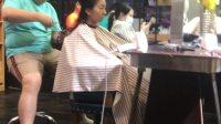 刘嘉怡剪头发
