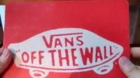 【晓夜】VANS周边收藏之72红色鼠标垫,欣赏分享交流,#vans读#范斯不是万斯,潮牌纪念品绝版珍藏#滑板#潮牌