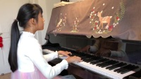 肖邦幻想即兴曲 顾怡茗10岁 即将比赛 努力练琴