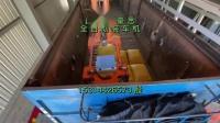 硫磺粒子自动装车系统 桁架式装车机械手视频