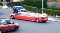 开开眼喔-偶现法拉利Modena加长版豪华轿车