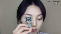 【PONY】 眼影盘画法 简单甜美清新时尚韩式化妆 女神妆步骤视频教程_高清