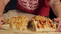 【大吃货爱美食】一大波快餐席卷而来!超变态的快餐墨西哥什锦卷~ 150916