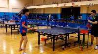 《乒乓球技术训练》正手两点爆冲练习