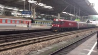 HXD3D牵引K2186次(上海→西宁)列车进南京站2站台!