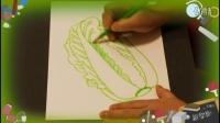 几分钟画白菜,教小孩画画的视频教程,乐成宝贝