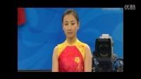 回顾08奥运会中国最美奥运冠军-何雯娜女子蹦床夺冠精彩片段!