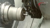 震环机床Z-MaT——SL8斜床身刀塔车床加工案例