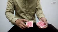 魔术教学 3扑克红黑变幻