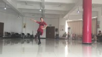 波老师广场舞蹈《玫瑰玫瑰我爱你》(姗姗)