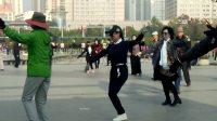 西宁中心广场藏族锅庄视频107