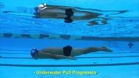 蛙泳水下长划臂的3个步骤-练习3