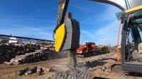 沃尔沃EC250EL挖掘机用液压碎石器