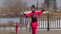 沈北新区喜洋洋广场舞《回家就是年》表演:喜洋洋 画中画1080p