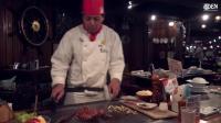 【街拍美食】冲绳航海主题餐厅的铁板龙虾牛肉套餐