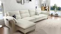可比优居现代简约超舒适躺坐体验乳胶坐垫沙发