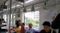 上海地铁3号线03A02黑包公341号车(漕溪路-龙漕路)