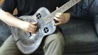 Republic Guitars丽声吉他演奏分享 Amistar singlecone resonator guitar! Open C tuning.