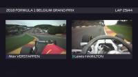F1 2018 比利时站正赛车载精华