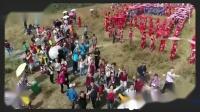 黄石千人旗袍秀庆祝国庆69周年,