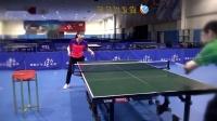 美女教练讲乒乓球战术第2集 搓攻战术(左手)