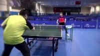 美女教练讲乒乓球战术第1集 发球抢玫(右手)