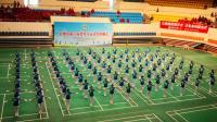 中国新时代台州辅导站运动会演出