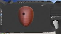 blenderCN-雕刻入门-新手学习02_参考绘制蜡笔与蛇形钩笔刷的用法