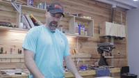 手工工具归方木板Dimensioning lumber with hand tools Part IV- Parallel face and edge