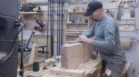 手工工具归方木板Dimensioning lumber with hand tools Part III- Reference edge