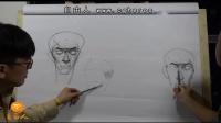 【艺学绘视频教程】 真人模特人体绘制 1